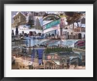 Framed Chicago Day