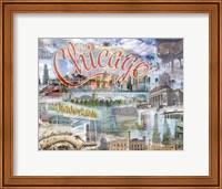 Framed Chi Town