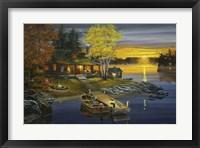 Framed Peaceful Evening