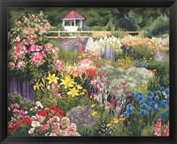Framed Door County Garden Gazebo