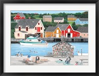 Framed Fishermans Cove
