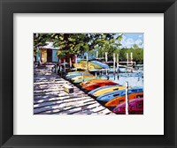 Framed Kayak Dock