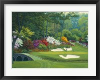 Framed Augusta on the 12th hole