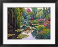 Framed Garden Giverny