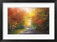 Framed October Glow
