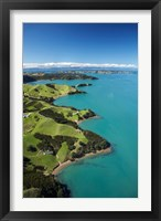 Framed Coastline, Waiheke Island, Auckland, New Zealand