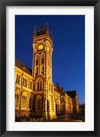Framed Historic Registry Building, University of Otago, South Island, New Zealand (vertical)