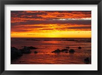 Framed Sunrise, Kaikoura, South Island, New Zealand
