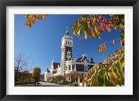 Framed Autumn, Train Station, Dunedin, South Island, New Zealand