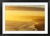 Framed Coast South of Dunedin, South Island, New Zealand