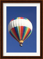 Framed Hot-air Balloon, South Island, New Zealand