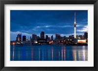 Framed Skytower, City Skylines, North Island, New Zealand