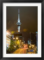 Framed Skytower, Hobson St, Auckland, North Island, New Zealand