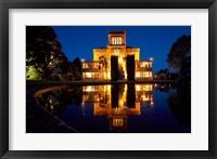 Framed Larnach Castle, Otago Peninsula, Dunedin, South Island, New Zealand