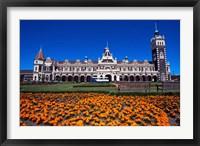 Framed Historic Railway Station, Dunedin, New Zealand