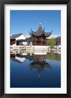 Framed Chinese Garden, Dunedin, Otago, South Island, New Zealand