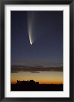 Framed Comet McNaught, South Island, New Zealand