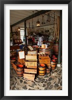 Framed Historic Stone Store, Kerikeri, North Island, New Zealand
