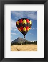 Framed Hot Air Balloon, Wanaka, South Island, New Zealand