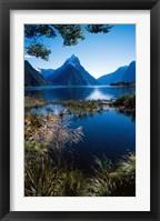 Framed New Zealand, Mitre Peak, Milford Sound, Fiordland NP