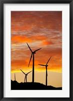 Framed New Zealand, North Island, Te Apiti Wind Farm, Energy