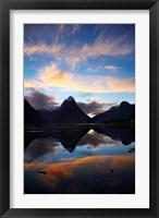 Framed New Zealand, South Island, Fiordland, Milford Sound