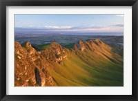 Framed Te Mata Peak, Hawkes Bay, North Island, New Zealand