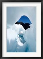 Framed New Zealand, South Island, Franz Josef Glacier, Ice
