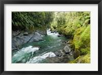Framed New Zealand, South Island, Crocked River
