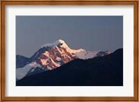 Framed New Zealand, South Island, Westland NP, Fox Glacier