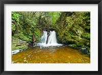 Framed New Zealand, South Island, Hurunui, Waterfall