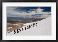 Framed New Zealand, South Island, Potts Range, Climbing
