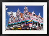 Framed Royal Plaza Shopping Mall, Oranjestad, Aruba, Caribbean