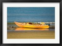 Framed New Zealand, South Island, Titirangi Bay, Kayaking