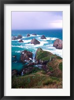 Framed New Zealand, South Island, Nugget Point