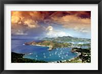 Framed Antigua, Caribbean