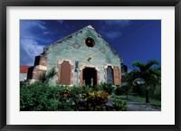 Framed Village Church, Antigua, Caribbean