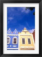 Framed Dutch Architecture, Oranjestad, Aruba