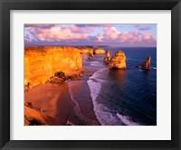 Framed Morning at 12 Apostles, Great Ocean Road, Port Campbell National Park, Victoria, Australia