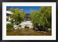 Framed Chinese Gardens, Dunedin, South Island, New Zealand