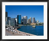 Framed Circular Quay, Sydney, Australia