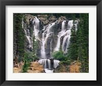 Framed Tangle Creek, Jasper National Park, Alberta, Canada