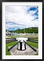 Framed Capstan, Nelson's Dockyard, Antigua, Caribbean