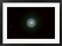 Framed Comet 17P (HolmesAfter Coment Erupted)