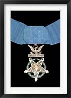 Framed Medal of Honor