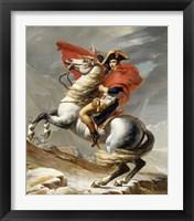 Framed Napoleon Bonaparte on his Horse