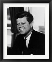 Framed John F Kennedy