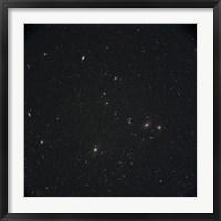 Framed Markarian's Chain Galaxies
