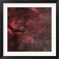 Framed Sadr Region with the Crescent Nebula