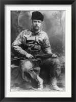 Framed Young Theodore Roosevelt